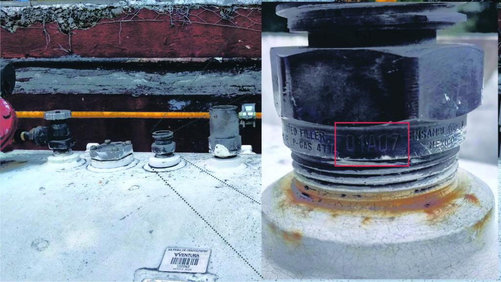 Reparacion y mantenimiento de tanques estacionarios Vavula fecha de fabricación reparacion y mantenimiento de tanques estacionarios Reparacion y mantenimiento de tanques estacionarios con GasLink Ejemplo valvula caduca 1 1024x576