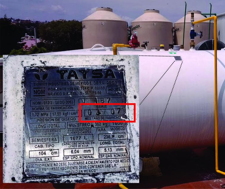 Reparacion y mantenimiento de tanques estacionarios reparacion y mantenimiento de tanques estacionarios Reparacion y mantenimiento de tanques estacionarios con GasLink Placa Fabricacion 1